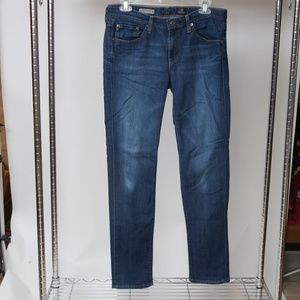 AG The Stevie Mid-Rise Slim Straight Jeans 29x30